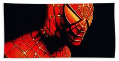 Spiderman Beach Sheet