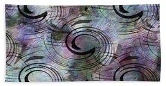 Spin And Platter Beach Sheet