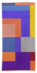 Spring 3 Abstract Composition Beach Towel
