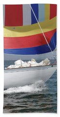 Spinnaker Run Beach Towel