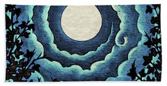 Spiral Clouds Beach Sheet