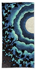 Spiral Clouds Beach Towel