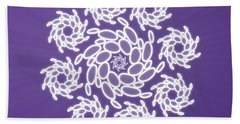 Spiral Dance Beach Towel