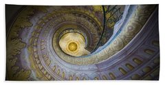 Spiral Staircase Melk Abbey I Beach Sheet