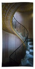Spiral Staircase Melk Abbey II Beach Sheet