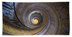 Spiral Staircase Melk Abbey IIi Beach Towel