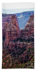 Spires And Mesa Country Beach Towel