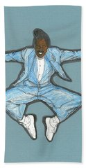 Spirit Of Cab Calloway Beach Sheet