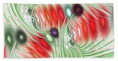 Beach Towel featuring the digital art Spirit Of Spring by Anastasiya Malakhova