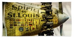 Spirit Of St Louis Beach Towel