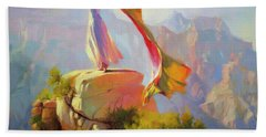 Spirit Of The Canyon Beach Towel