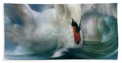 Spirit Of The Swan Beach Towel