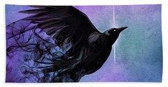 Spirit Raven Beach Sheet