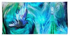 Spirit Sanctuary Beach Towel