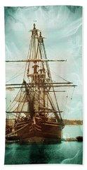 Beach Towel featuring the photograph Spirits Of A Ship by John Rivera