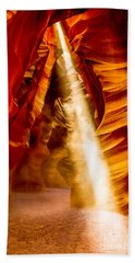 Spirit Light Beach Towel by M G Whittingham