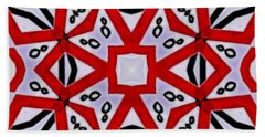 Beach Towel featuring the digital art Spiro #3 by Writermore Arts
