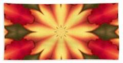 Beach Towel featuring the digital art Spiro#4 by Writermore Arts