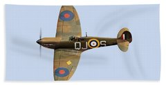 Spitfire Mk 1 R6596 Qj-s Beach Sheet