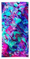 Splash Of Color Beach Sheet