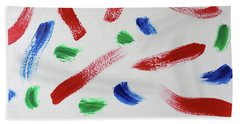 Splatter Beach Sheet