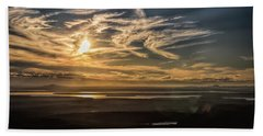 Beach Towel featuring the photograph Splendorous Sunset by John M Bailey