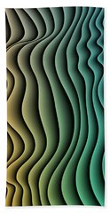 Split Infinities Beach Towel