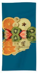 Split Reflections Beach Towel