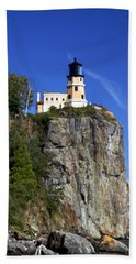 Split Rock 2 Beach Towel by Marty Koch