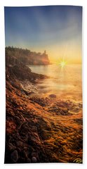 Split Rock Glory Beach Towel