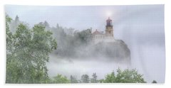 Split Rock Lighthouse Lake Superior North Shore Beach Towel