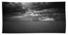 Beach Sheet featuring the photograph Spoken by Mark Ross