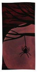 Spooky Spider Tree Beach Towel