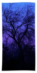Spooky Tree Beach Towel