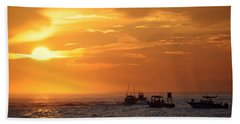 Sportfishermen Head Offshore Beach Towel