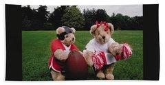 Sporty Teddy Bears Beach Sheet