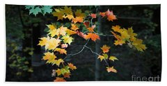 Spotlight On Fall Beach Towel