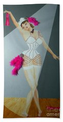 Spotlight On Gypsy -- #5 In Famous Flirts Series Beach Towel