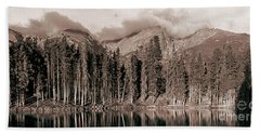 Sprague Lake Morning Beach Towel