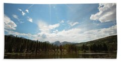 Sprague Lake Beach Towel