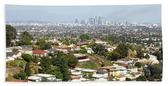 Sprawling Homes To Downtown Los Angeles Beach Towel