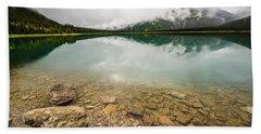 Spray Lake Alberta Beach Sheet
