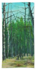 Spring Aspens Beach Towel