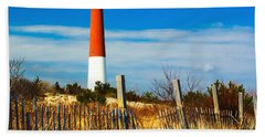 Spring At Barnegat Beach Towel by Nick Zelinsky