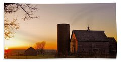 Spring At Birch Barn 2 Beach Towel by Bonfire Photography