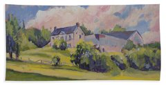 Spring At The Hoeve Zonneberg Maastricht Beach Towel by Nop Briex