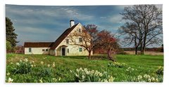 Spring At The Paine House Beach Towel