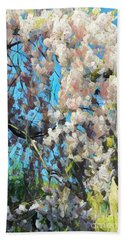Spring Awakenings Beach Towel by Miriam Danar