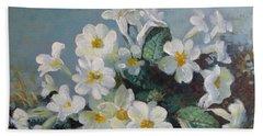Spring Blooms Beach Sheet by Elena Oleniuc