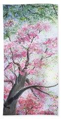 Spring Blossoms Beach Sheet